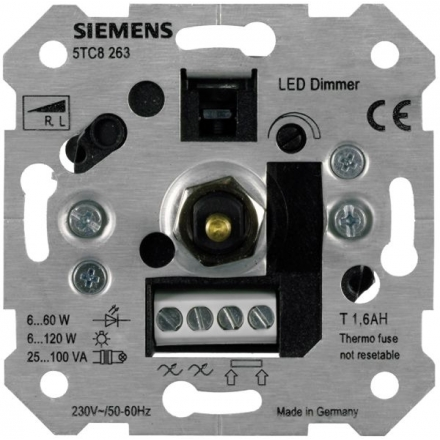 LED Dimmer in Holz